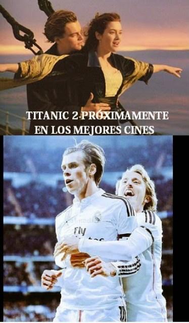 Los mejores memes del Real Madrid-Levante: Jornada 27 TITANIC 2 bale modrid