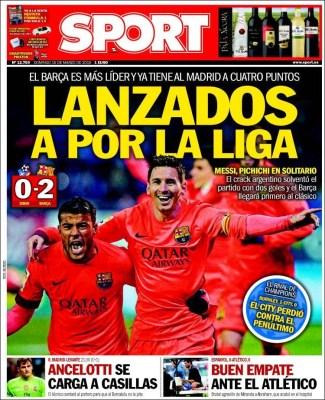 Porta Sport: Lanzados por la liga