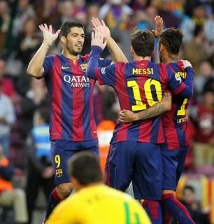 Barcelona 6-Getafe 0. Jornada 34 Liga Española