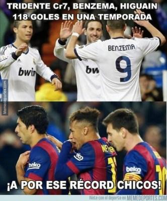 Los mejores memes de la goleada del Barça al Getafe el msn supera a messi henry y eto
