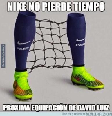 Los mejores memes del Barcelona-PSG: Cuartos Champions david luiz