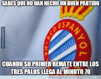 Los mejores memes del Espanyol-Barcelona: Jornada 31