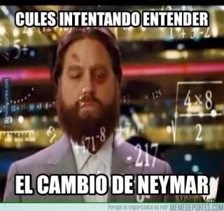 Los mejores memes del Sevilla-Barcelona: Jornada 31 cambio de neymar