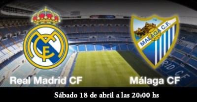 Alineación y la previa Real Madrid-Málaga. Jornada 32