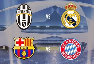 Semifinales Champions League 2014-2015. Calendario