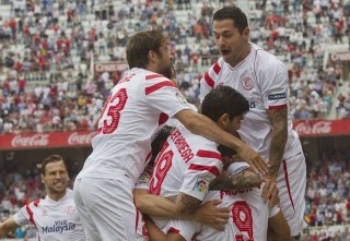 Sevilla 2-Athletic Bilbao 0. Jornada 29 Liga Española