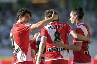 Córdoba 1-Rayo Vallecano 2. Jornada 37 Liga Española