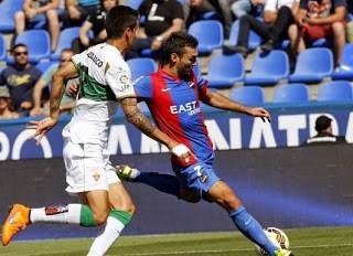 Levante 0-Elche 0. Jornada 38 Liga Española