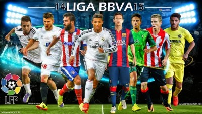 Alineaciones Jornada 36. Liga Española 2015