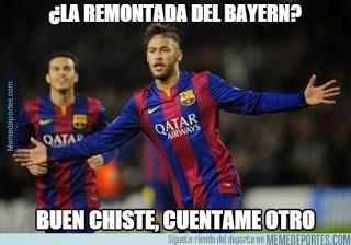 Los mejores memes del Bayern Munich-Barcelona: Semis Champions neymar