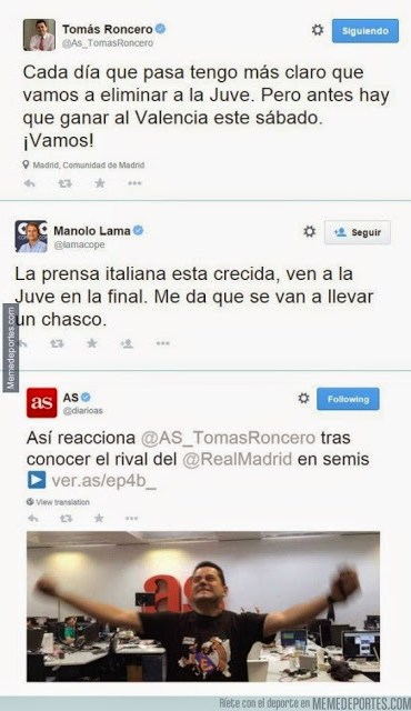 Los mejores memes del Juventus-Real Madrid: Semis Champions