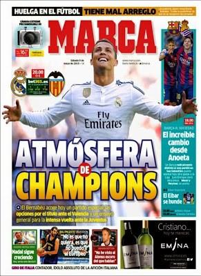 Portada Marca: atmósfera de Champions