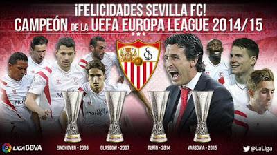 Sevilla BiCampeón de la Europa League 2015