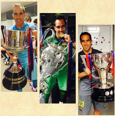 claudio bravo champions 2015