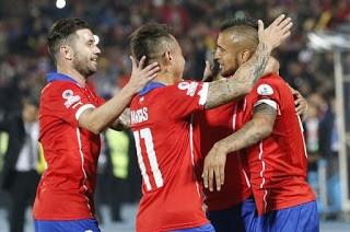 Chile 2-Ecuador 0. Copa América 2015-Grupo A