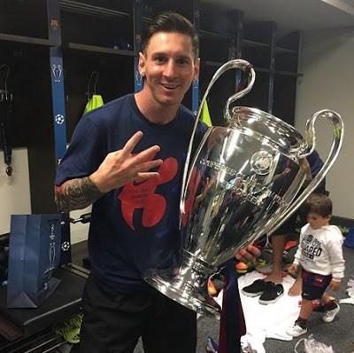 lionel messi instagram champions league 2015