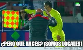 Los memes del Chile-México Copa América