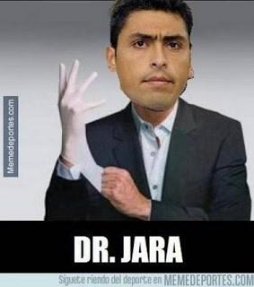 Los mejores memes del Chile-Uruguay. Copa América  dr jara