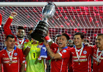 Las imágenes de Chile Campeón de América 2015