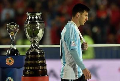 Las imágenes de Chile Campeón de América 2015 leo messi
