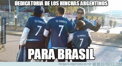 Los mejores memes del Argentina 6-Paraguay 1. Copa América  brasil