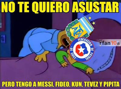 Los mejores memes del Argentina 6-Paraguay 1. Copa América