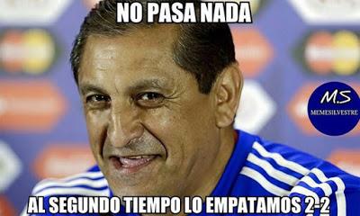 Los mejores memes del Argentina 6-Paraguay 1. Copa América  ramon diaz