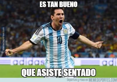 Los mejores memes del Argentina 6-Paraguay 1. Copa América  messi asistencia