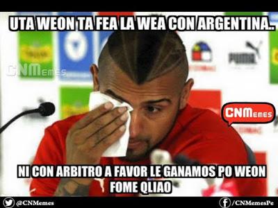Los mejores memes del Chile-Argentina. Final Copa América 2015