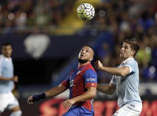 Levante 1-Celta de Vigo 2. Jornada 1