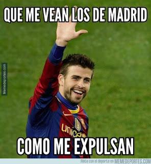 Los mejores memes del Barcelona-Athletic: Supercopa 2015 pique