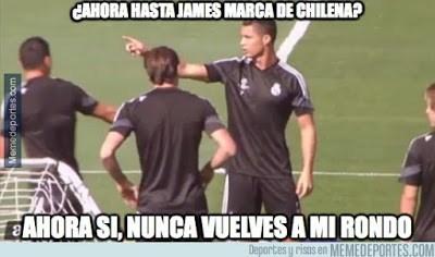 Los mejores memes del Real Madrid-Betis: Jornada 2 chilena james