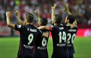 Sevilla 0-Atlético Madrid 3. Jornada 2 Liga Española