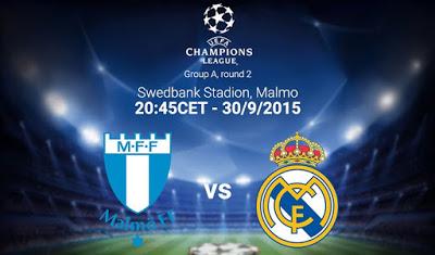 Alineación Malmo-Real Madrid: Champions League 2015