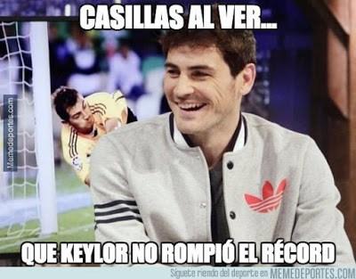 Los mejores memes del Athletic Bilbao-Real Madrid: Jornada 5 caSILLAS