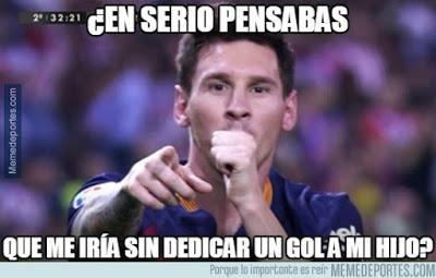Los mejores memes del Atlético Madrid-Barcelona: Jornada 3 messi gol mateo dedica gol
