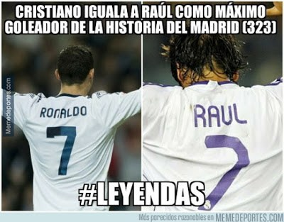 Los mejores memes del Malmo-Real Madrid: Champions 2015 cristiano ronaldo raul