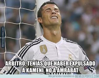 Los mejores memes del Real Madrid-Málaga: Jornada 6