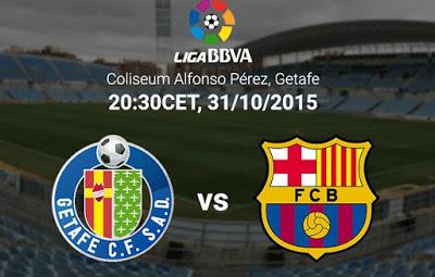 Alineación y previa Getafe-Barcelona. Jornada 10