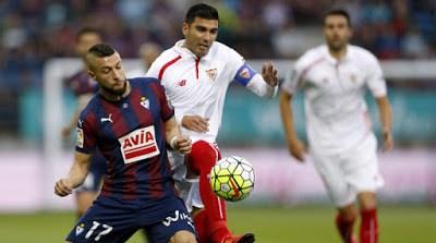 Éibar 1-Sevilla 1. Jornada 8 Liga Española