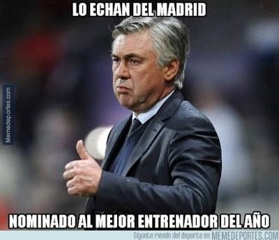 Los mejores memes de los 23 candidatos al Balón de Oro 2015 ancelotti