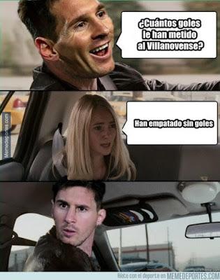 Los mejores memes del Villanovense-Barcelona: Copa del Rey messi