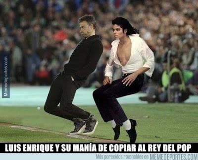 Los mejores memes del Villanovense-Barcelona: Copa del Rey michael jackson luis enrique