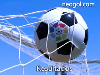 Resultados de la Jornada 9: Liga BBVA 2015
