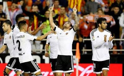 Valencia 3-Levante 0. Jornada 10 Liga Española