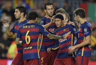 Barcelona 3-BATE 0. Champions League 2015