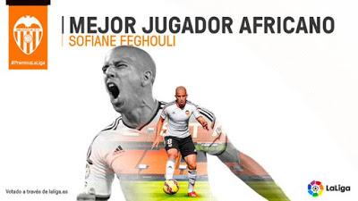 feghouli mejor jugador afrinacano 2015