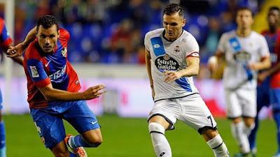 Levante 1-Deportivo la Coruña 1. Jornada 11 Liga Española