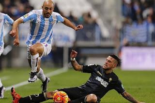 Málaga 2-Granada 2. Jornada 13 Liga Española