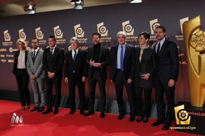Imágenes de la gala Premios La Liga 2014-2015  simeone